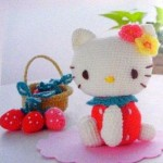 Hello Kitty a crochet